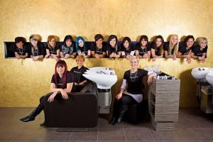 Hairstylist Pierre Gruppenbild